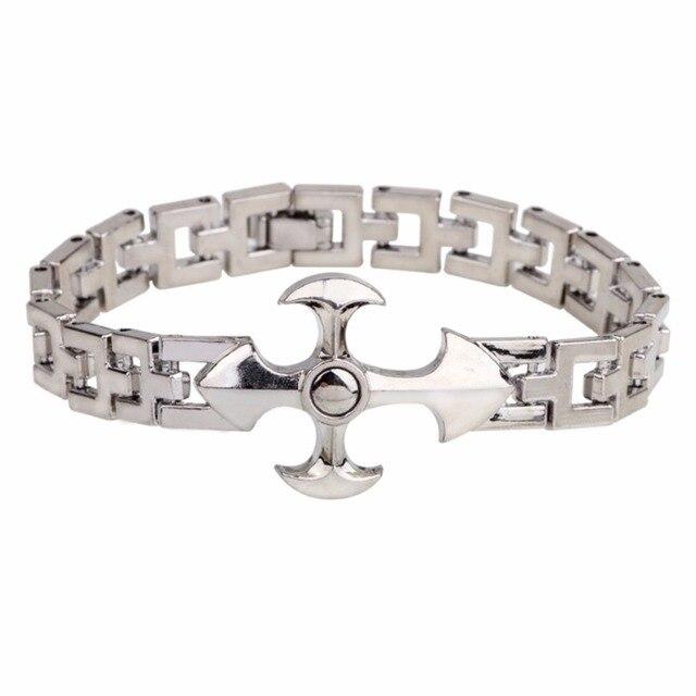 acheter populaire assez bon marché marque populaire € 3.65 5% de réduction|Druzy exclusif homme bijoux argent ton religieux  croix charme prière lien poignet Bracelet Bracelet pour hommes femmes  chrétien ...