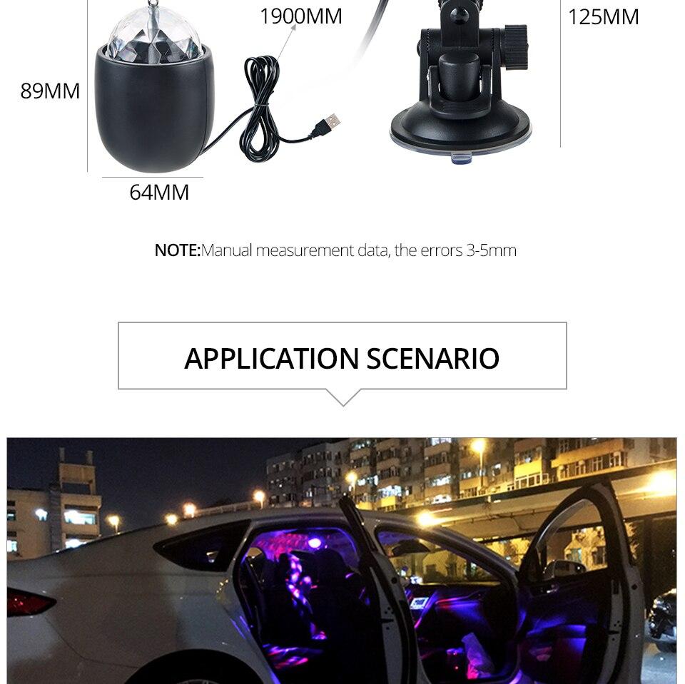 Car USB Atmosphere Light_11