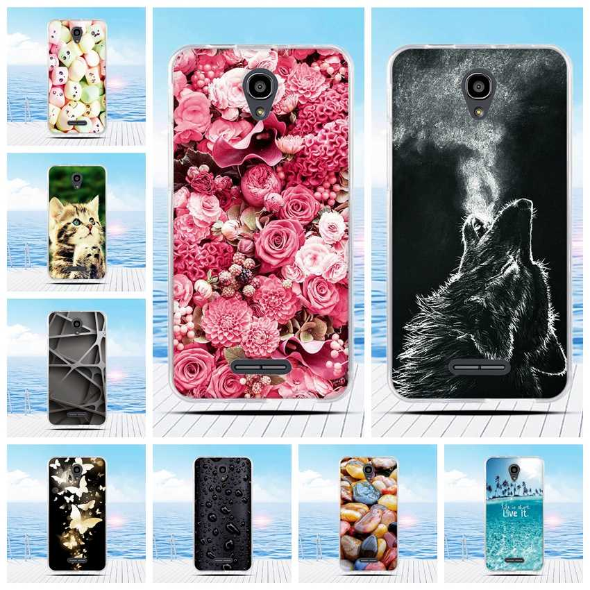 "For Alcatel Pop 4 Plus 4+ 5.5"" OT5056 Case Cartoon 3D Relief Printing Pattern Back Cover TPU Soft Silicone Case Coque Capa Funda"