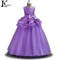 Party Summer Dresses For Girls Clothes Princess Long Wedding Dress For Girl Teenager Bridesmaid Dress Vestidos