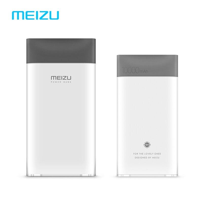 MEIZU M20 10000mAh Power Bank Portable Meilan Two-way Quick Charge Li-polymer Battery For iphone8 Xiaomi 5X Huawei Samsung S8 LG