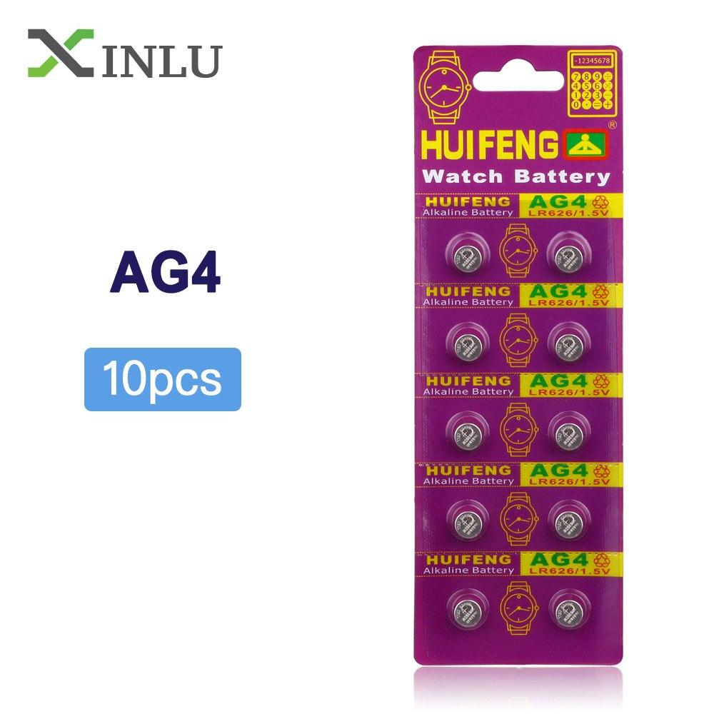 10pcs/lot AG4 377A 377 LR626 SR626SW SR66 LR66 Button Cell Coin Battery Watch Battery SR626SW SR66 AG4 Cell Battery Freeshipping