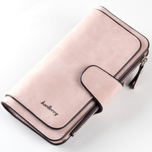 Famous Brand Luxury Wallets Women Long Leather Wallet Female Clutch Purse Women Wallet Ladies portefeuille femme WWS046 cheap baellerry Polyester Standard Wallets 10cm Coin Pocket Interior Compartment Photo Holder Note Compartment Zipper Poucht Card Holder