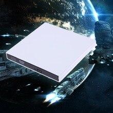 Alloyseed USB2.0 External DVD Combo CD-RW ROM Burner Drive CD RW DVD ROM For PC Laptops Notebooks Desktop
