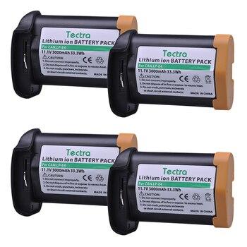 4PCS 3000mAh LP-E4N LP-E4 Li-ion Battery for Canon EOS 1D Mark III, EOS-1D Mark IV, EOS 1Ds Mark III, EOS 1D C, EOS 1D X