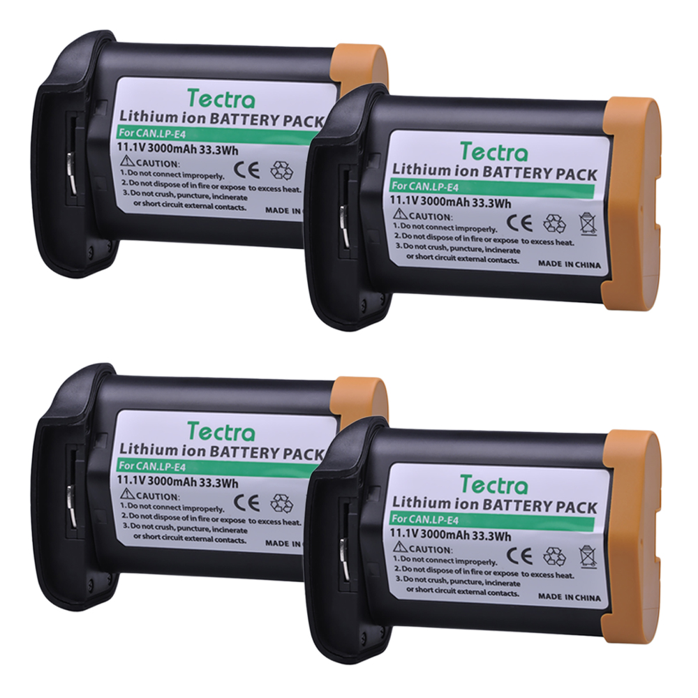 купить 4Pc 11.1V 3200mAh LP E4 LP-E4 E4N Li-ion Battery for Canon EOS 1D Mark III, EOS-1D Mark IV, EOS 1Ds Mark III, EOS 1D C, EOS 1D X онлайн