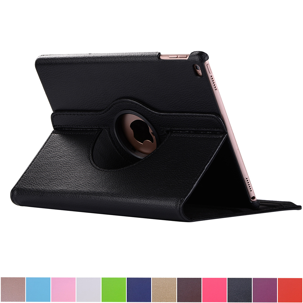 For Apple iPad Mini 4 Cover Case 360 Rotating Smart Cover for Mini iPad PU Leather Protect Case w/Screen Protector apple ipad mini smart case black mgn62zm a