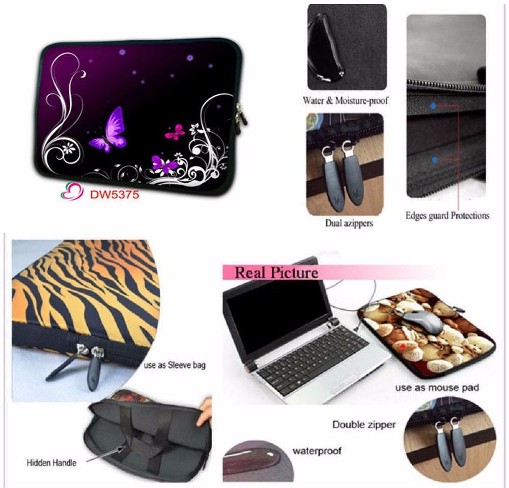 Notebook sleeve tablet case Laptop Bag for 7-17 inch
