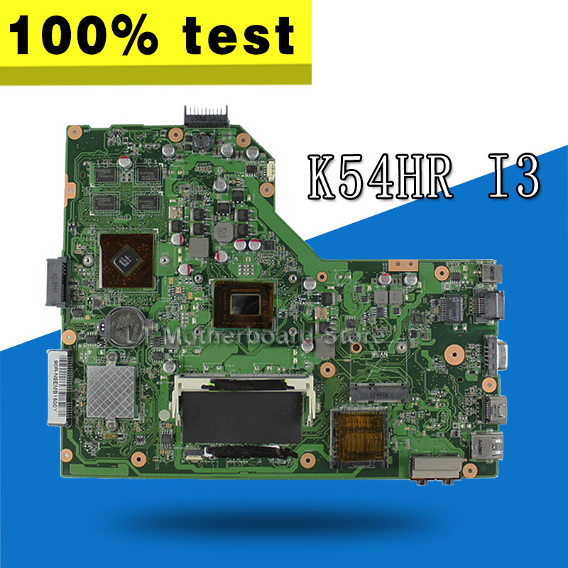 K54HR Motherboard I3-2350M/2330M For ASUS X54H X54HR X54HY K54HR K54LY Laptop motherboard K54HR Mainboard K54HR Motherboard кпб cl 29