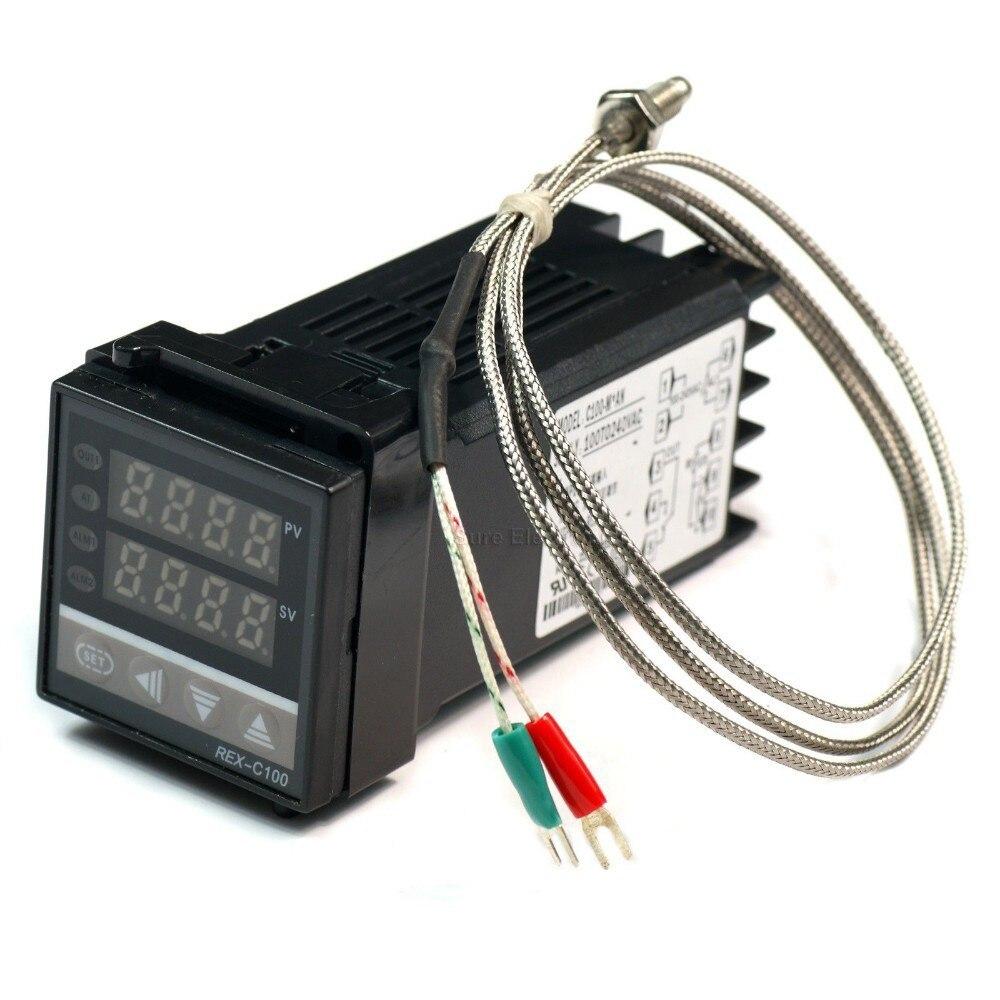 Rex C100 100 240v Digital Pid Temperature Control