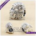 2016 Fall NEW S925 Sterling Silver Charming Owls Charm Fit European woman Jewelry charm Bracelets & Necklaces