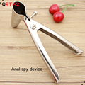 anal \ Vaginal Speculum OB/GYN Instruments Genitals Sexy Peep Mirror CE Medical Stainless Steel Colpectasia Device Sex Products