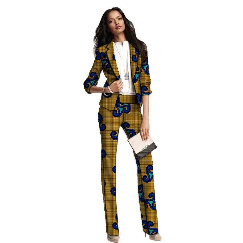 6 Les 9 Un Tenues Style Femmes 7 Costumes 4 Avec Impression Pour D'affaires Ensemble 2 1 Pantalon Ankara 10 Pantalons 8 Mariages Formelle De Blazers 5 Femelle Africain 3 wS4IPxUnUc