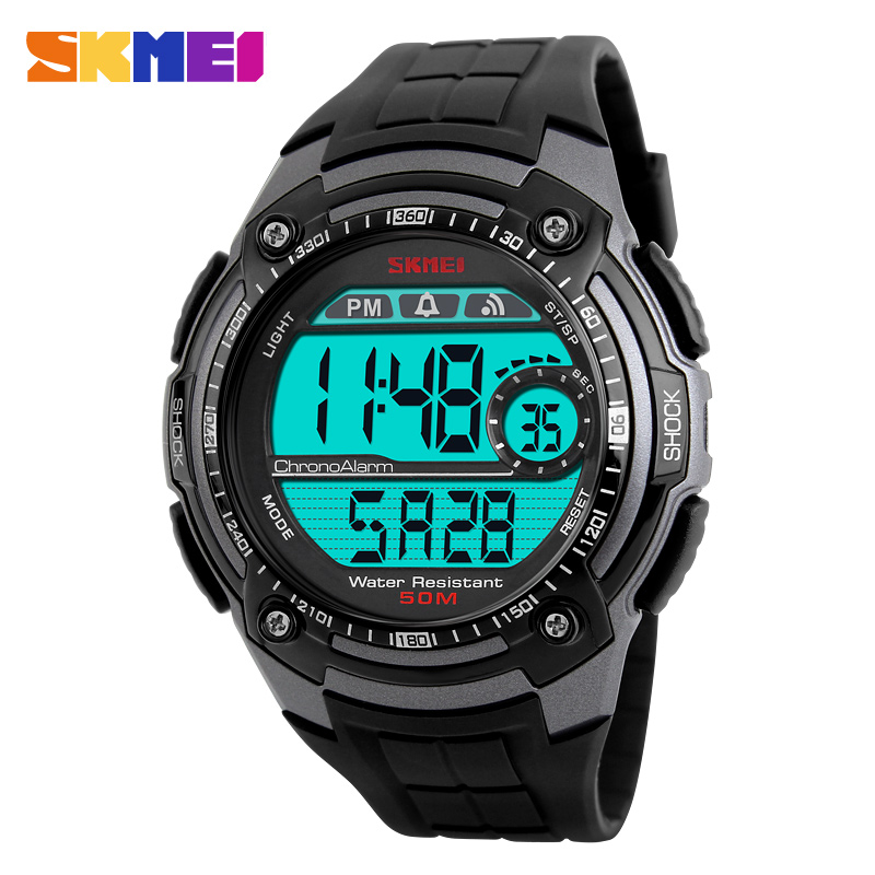 a32e3279c98 SKMEI 1203 Men Sports Watch Waterproof Chronograph Military Relogio  Masculino Fashion Outdoor Mens Sport Digital Wristwatches