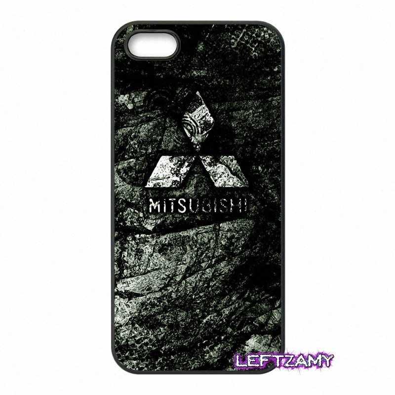 Mitsubishi motors logo Dur housse de téléphone Pour Samsung Galaxy Note 2 3 4 5 8 S2 S3 S4 S5 MINI S6 S7 bord Actif S8 Plus