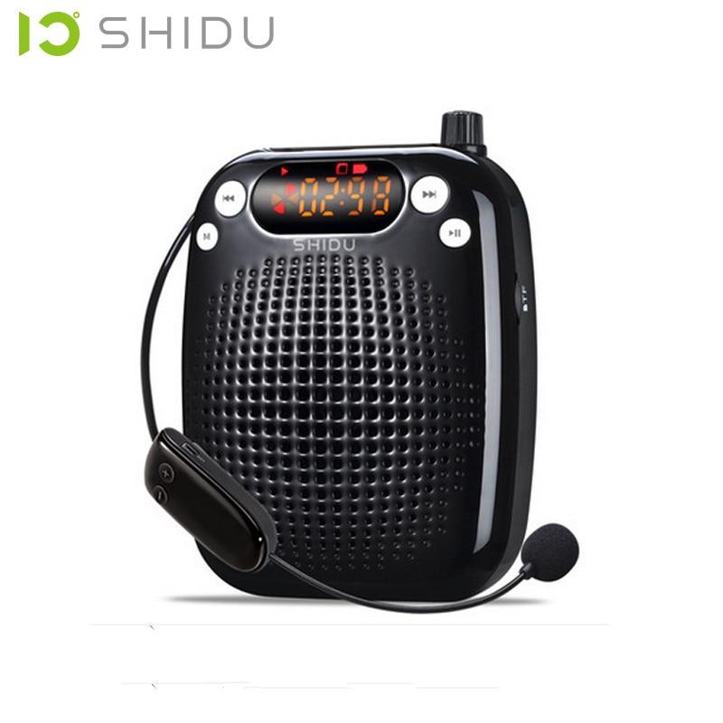 S611 UHF trådlös mikrofon, 10-watt Röstförstärkare för - Bärbar ljud och video