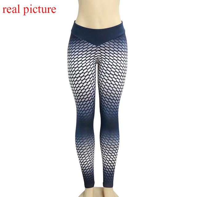 High waist athleisure legging sportswear dot print 3D harajuku elastic fitness leggings jegging women long pant push up