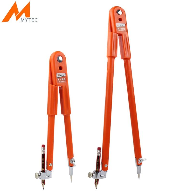 Professional Woodworking Pencil Compasses Line Marking Gauge Adjustable Dividers For Marking Scriber Compass Carpenter Tools