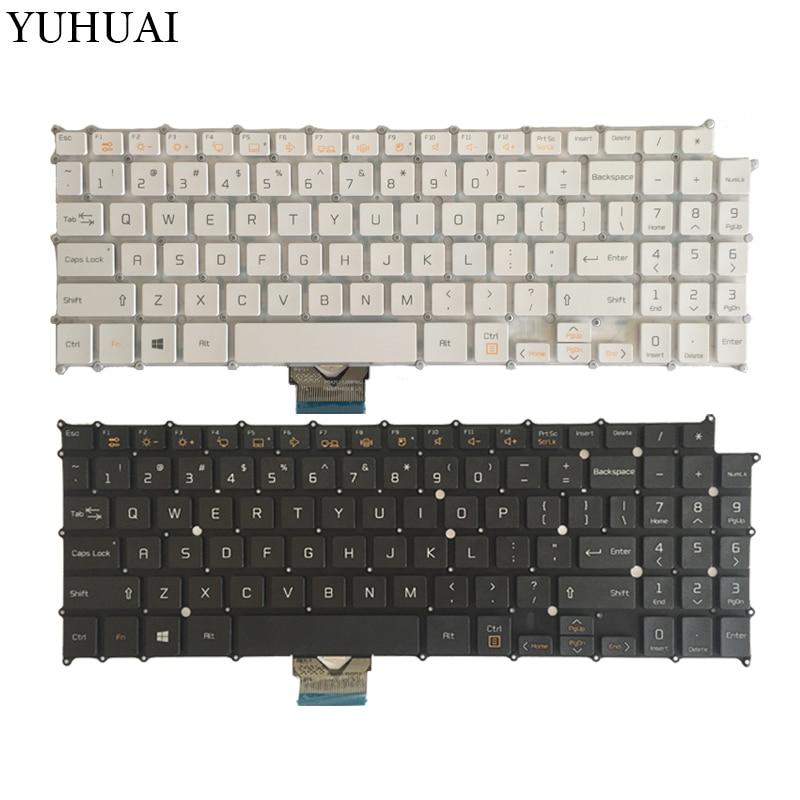 US Laptop Keyboard For LG 15Z960 AEW73709802 HMB8146ELB01 English laptop keyboard black white laptop keyboard for lg p330 black without frame it italian sn7115 sg 48500 2ia