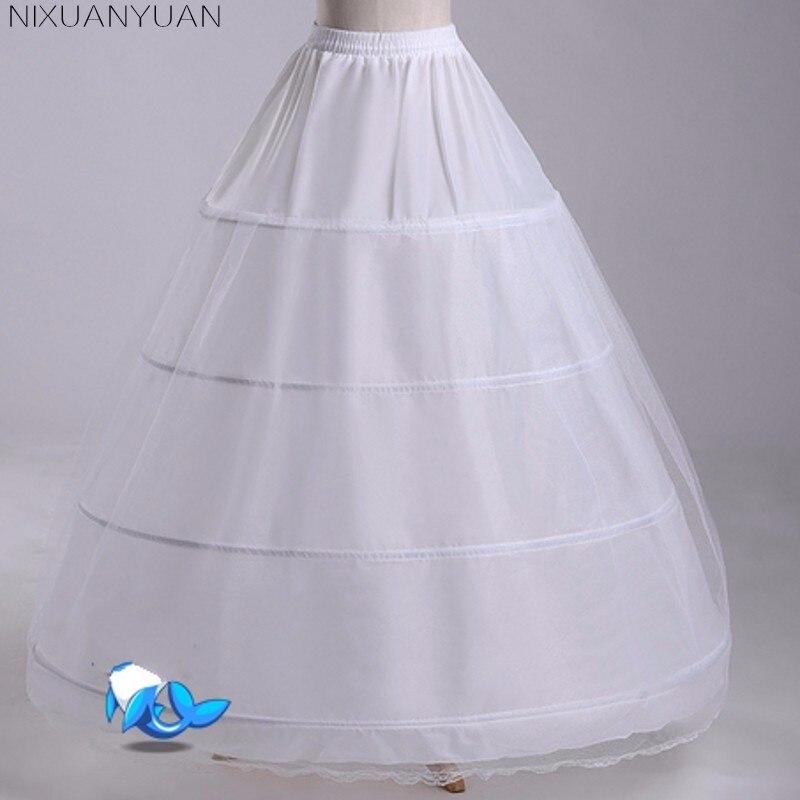 NIXUANYUAN Petticoat For Wedding Dress Tulle Women Underskirt Jupon Mariage Crinoline Enaguas Novia Anagua De Vestido De Noiva