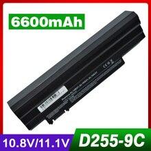6600 Mah Batteria Del Computer Portatile per Acer Lc. BTP00.129 Aspire One AO522 AOD255E AOD257 AOD260 AOD270 AOE100 D257 D257E D260 D270 E100 522