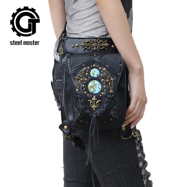 Steampunk New Design Punk Retro Shoulder Waist Bags