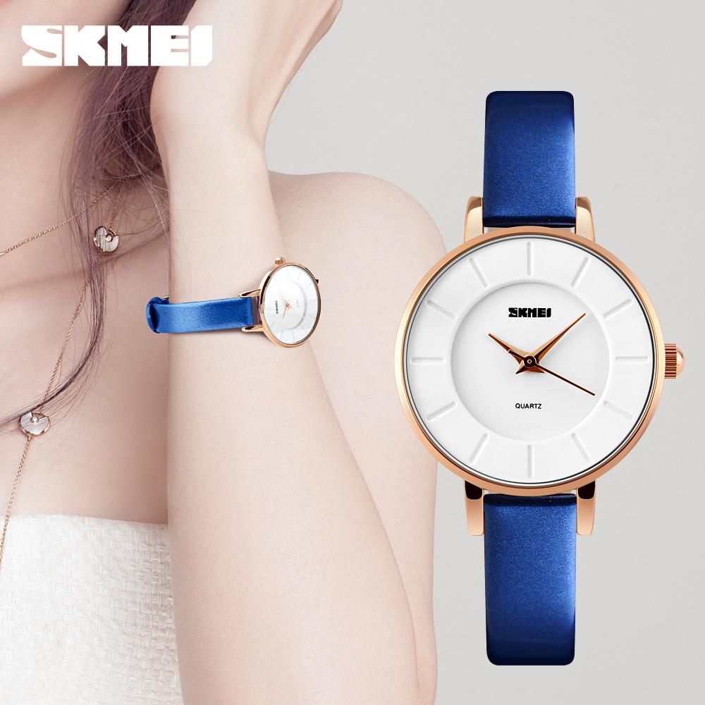 Prix pour De luxe Marque Montre Femmes Mode Or Boîtier En Alliage Dames Montres En Cuir Quartz Montre Relogio Feminino Horloge Relojes Mujer 2016