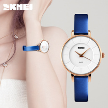 Luxury Brand Watch Women Fashion Gold Alloy Case Ladies Watches Leather Quartz Watch Relogio Feminino Clock Relojes Mujer 2016