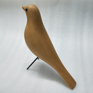 Image 2 - Beechwood House Bird Home Decoration Display Furnish Art Craft Birthday Gift Mascot Wooden Bird