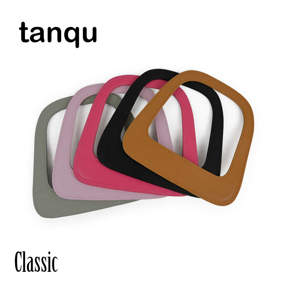 tanqu Big Classic Oblong Faux PU Leather Handle for Obag Standard Classic Bag Body