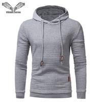 VISADA JAUNA 2018 New Arrival Men Sweatshirts Classic Men S Hooded Casual Sweatshirt Jacket Slim Men