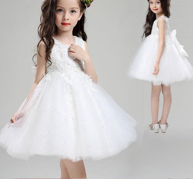 f6ccc2ffb vestido Baby Girl Wedding Dress Infant Princess Little Girls 1 Year ...