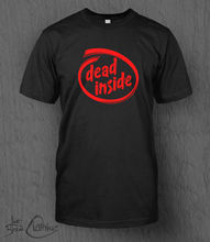 Dead Inside T-Shirt Intel Logo MENS Funny, Walking Dead, Zombies, Fathers Day Harajuku Fashion Classic Unique free shipping