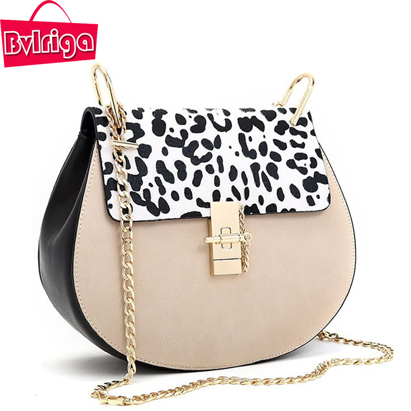 ФОТО BVLRIGA Women Bag Luxury Brand Designer Women Messenger Bags Chain Leather Shoulder Bags Handbags Ladies Crossbody Bags Fashion