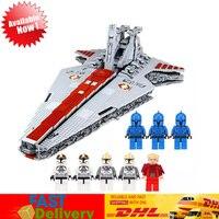 MOC Legoing Lepin 05077 6125PCS Star Wars The Ucs ST04 Set Republic Cruiser Educational Building Blocks Bricks Toys for Children