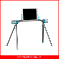 Universal Aluminum Foldable Lazy Bed Mobile Device Tablet Holder for 4 inch to 10 inch