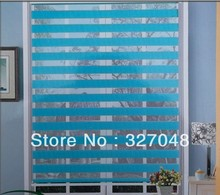 free shipping popular zebra roller fabric curtain window