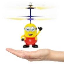الألعاب التعليمية Drone RC هليكوبتر الطائرات صغيرة بدون طيار يطير وامض هليكوبتر اليد التحكم RC اللعب المحبوب المعبود Quadcopter Dron LED