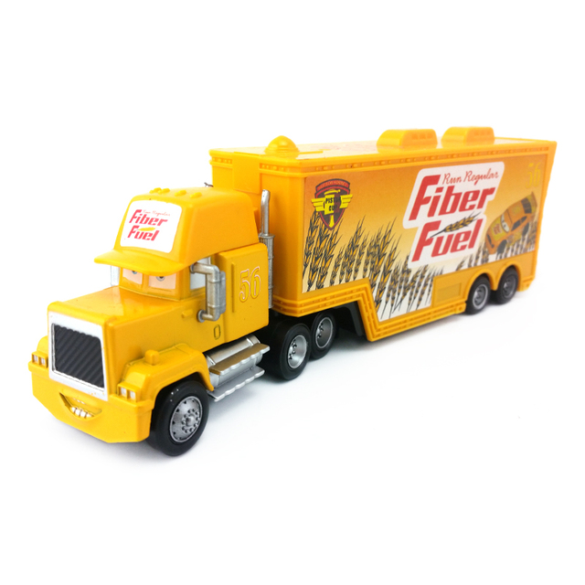 Disney Pixar Cars Mack Uncle No 56 Fiber Fuel Truck 1 55 Cast Toy