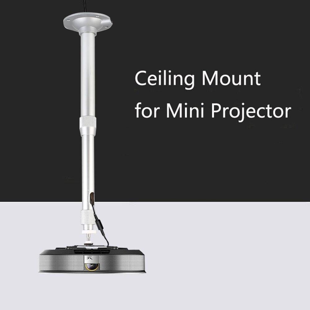 20-40CM/ 30-60CM Adjustable Projector Wall Ceiling Hanging Bracket Projector Hanger Holder Aluminum Projection Mount Accessories