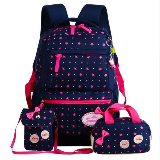 2018 New Printing Children Backpacks For Teenagers Girls Lightweight Waterproof School Bags Child Orthopedics Schoolbags цена