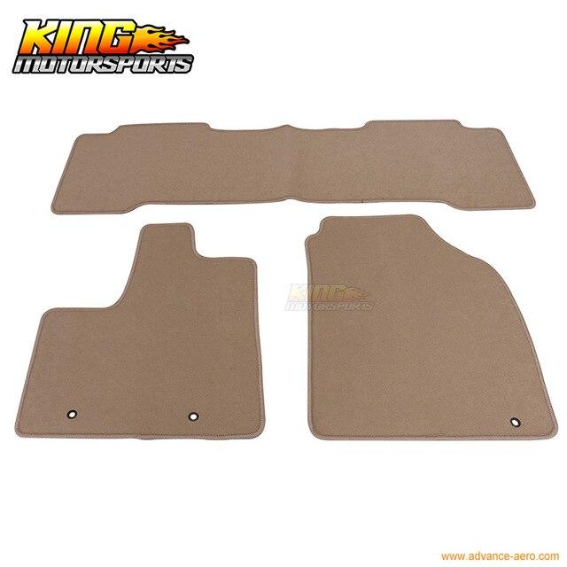 For Acura MDX Floor Mats Carpet Front Rear Beige PC - Acura mdx floor mats