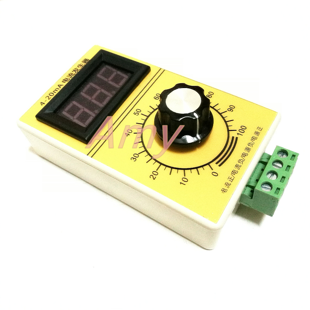 4 20ma Signal Current Generator Constant Source Handheld Constantcurrent Digital Display Analog Ge Nerator In Switch Caps From Home Improvement On
