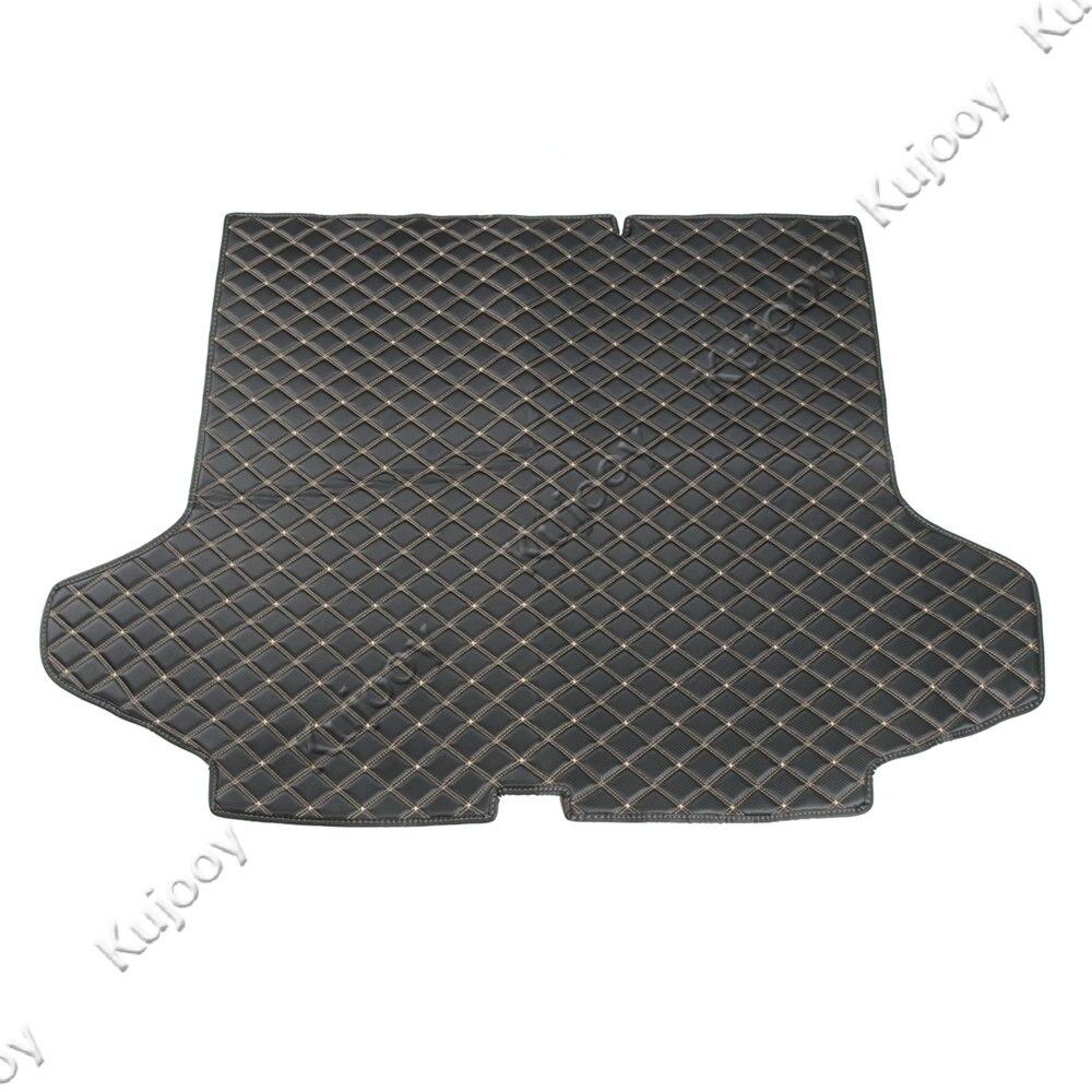 1 pièces tapis de coffre arrière en cuir de voiture protecteur de plancher de cargaison tapis de protection de pied pour Chevy Equinox 2017 + accessoires de style de voiture intérieure
