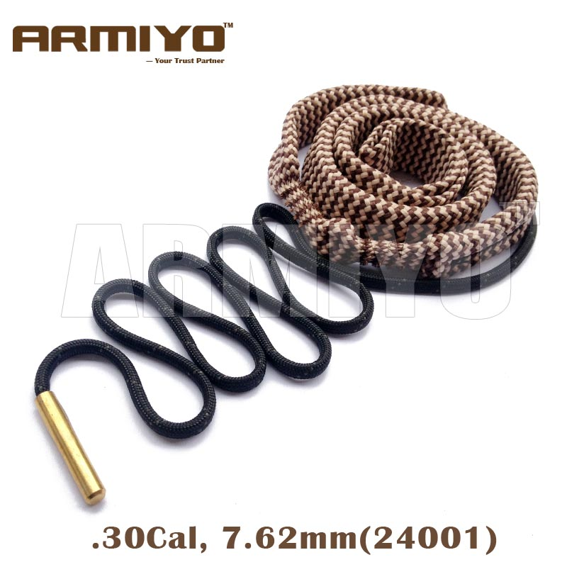 Armiyo Bore Snake .30, .32 Cal 7.62mm Rifle Barrel Cleaner Gun Bore Cleaning Fit AK 24001 Hunting Shooting Clean Kit