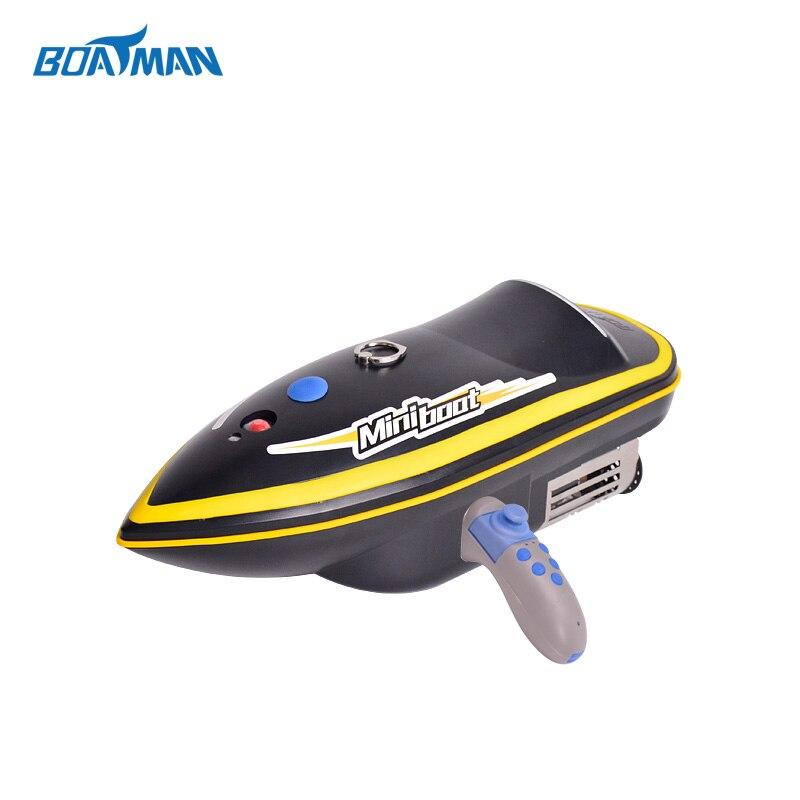 fast speed mini rc fishing bait boat fishing boat with bait casting fishing tool