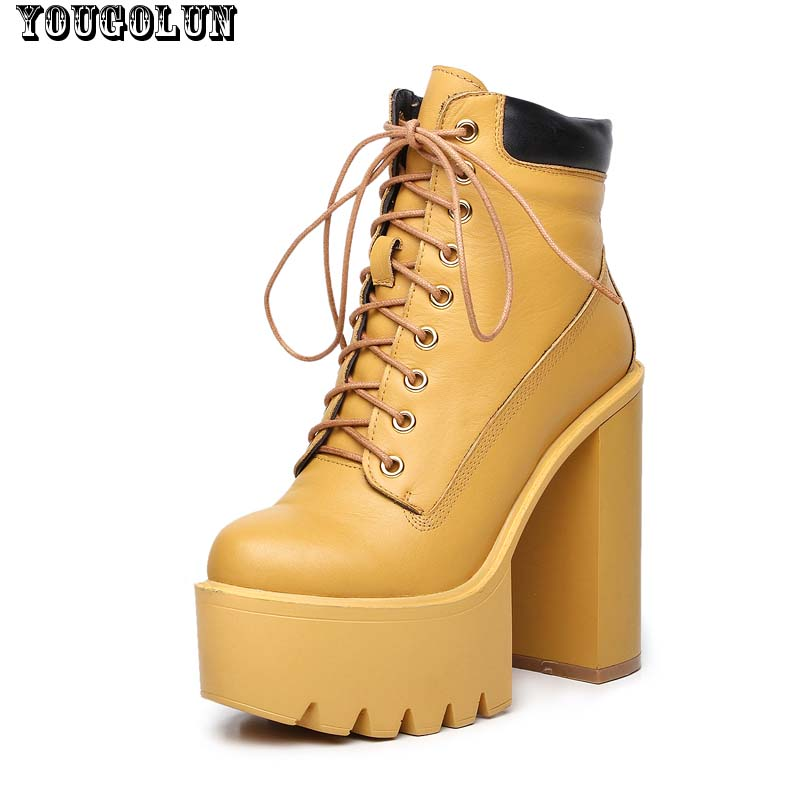 Compare Prices on Yellow High Heel Boots- Online Shopping/Buy Low ...