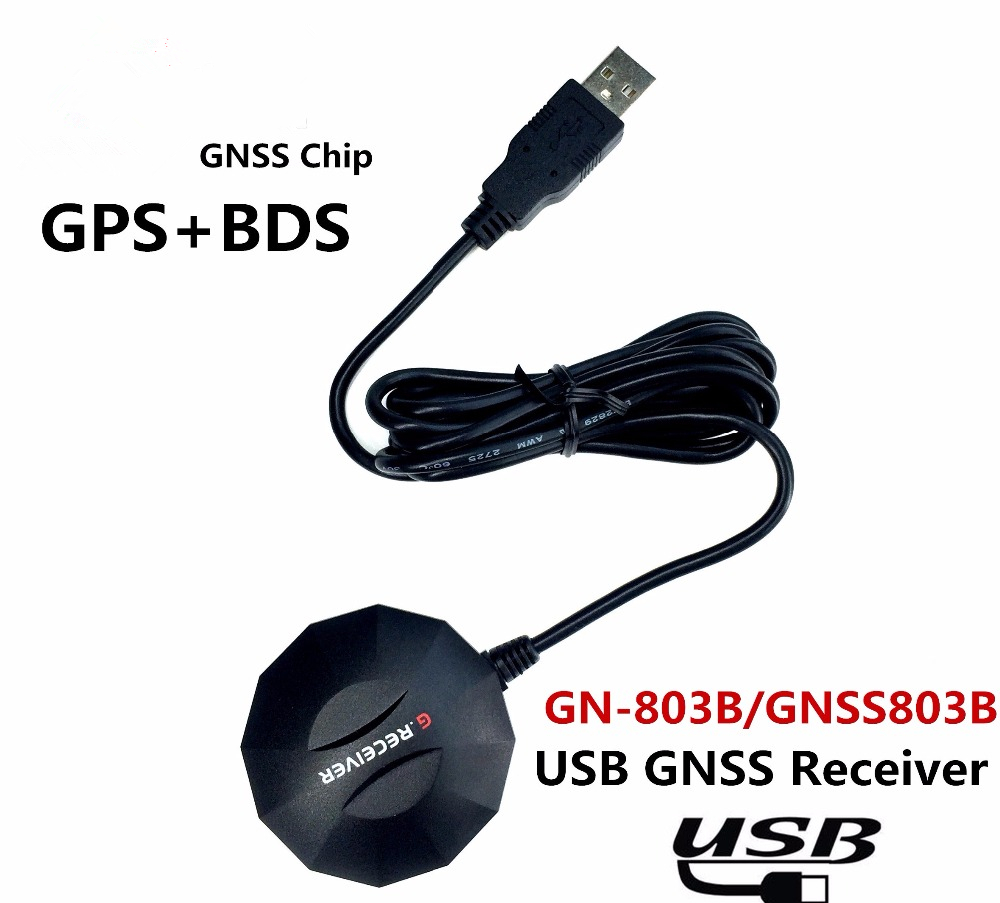 NEW USB GPS receive BDS GLONASS Galileo Module antenna,Dual-mode 8030 GNSS chip Design NMEA0183 , alternative BU-353S4 free high quality 51 single chip gps module antenna uart output nmea0183 protocol can set the baud rate gps chip design