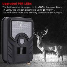 Охотничья Камера 0,8 s Многофункциональный видео рекордер Трейл камера фотография портативный 3.0MP ночное видение ИК животное