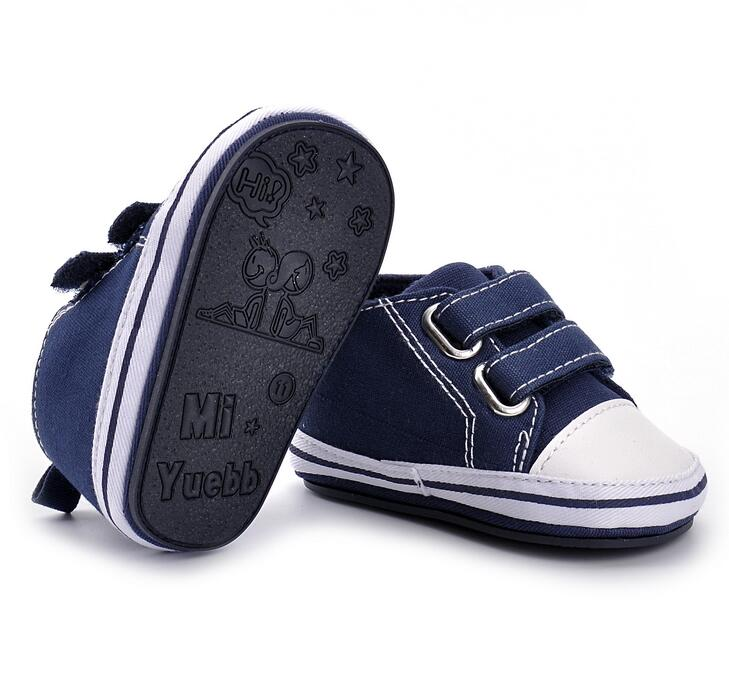 4 Colors Hot Sale Classical Sports Baby Girls Boys Shoes Newborn First Walkers Canvas Infant Toddler baby moccasins baby shoes